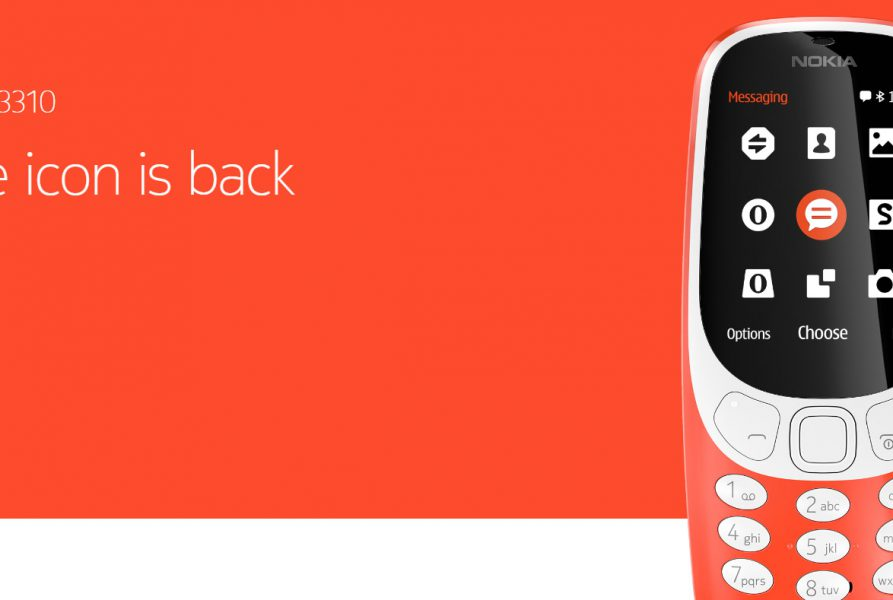 Nokia 3310 le retour